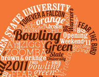 BGSU Opening Weekend Tshirt