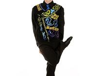 Designs for Irish step dancing costumes