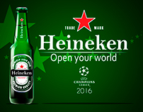 HEINEKEN | Open your world