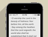 Better bible app idea mockup
