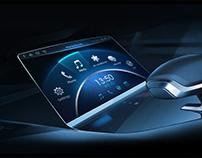 Smart car UI design