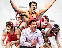 2014-15 NC State Wrestling Poster