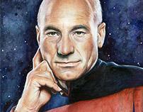 Star Trek Fan Art: Watercolor Portraits