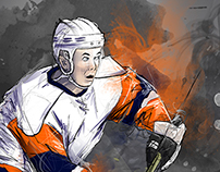 2014 - Hockey Portrait for a Friend