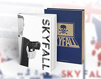 SKYFALL | Concept Book Covers