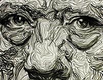 Danny Trejo Portrait Illustration