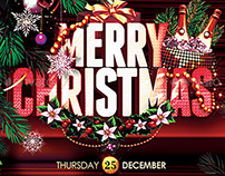 Merry Christmas Poster | Flyer