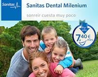 Campaña Sanitas Dental