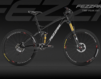 3d bicycle model of fezzari timp peak