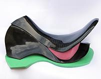 Carbon Fibre Saddle