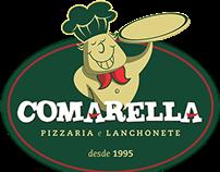 Logo Pizzaria Comarella