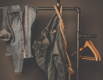 Editorial Product Photography : Jeans