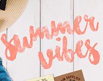 Summer designs - D E N I M