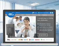 Web service for HR-specialists