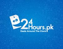 www.24hours.pk | Website and Branding