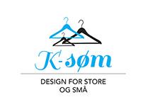 K-Søm - logo design