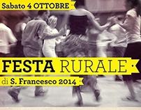 Locandina Festa Rurale