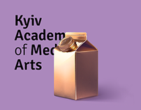 Posters for Kyiv Academy of Media Arts #1