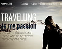 Web site for travel agency