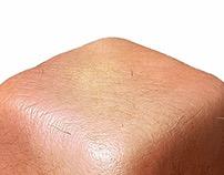 Human Skin Cube