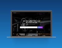 Car Auction Web UI Free Download XD