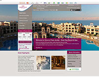 Crowne Plaza Hotels 2013 - Website Redesign - Stage 1