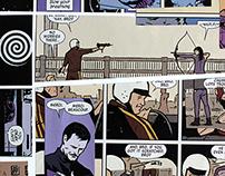 Cutting up Comics: Hawkeye