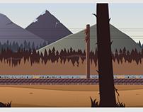 Railroad Game Background