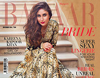 Harper's Bazaar Bride India cover story