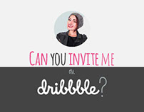 Can you invite me, please?