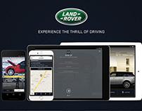 Land Rover & Jaguar App UI