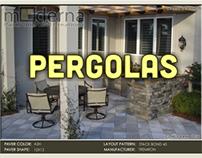 pavers with Pergolas