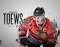 2014-15 Chicago Blackhawks Player Wallpapers