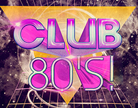 Club 80 digital album cover