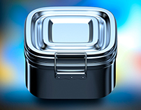 Metal box iOS Icon