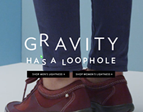 Rockport FW2014 Lightness Landing Page