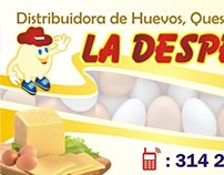 Tarjeta publicitaria / advertizing card