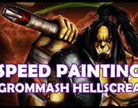 Warlord Hellscream [Speed Painting]