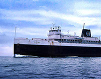 Ann Arbor Railroad Car Ferries (1892-1982) - Part 5