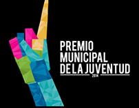 """Re diseño """"Premio Municipal de la Juventud 2014"""""""