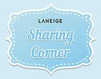 LANEIGE Sharing Corner (CMS)