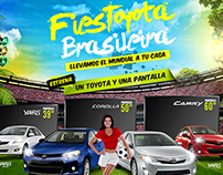SALE POINT TOYOTA PROMOTIONAL MATERIAL