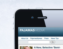 Pajamas Media Mobile Site