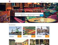 treep.io : Website Design Mockup
