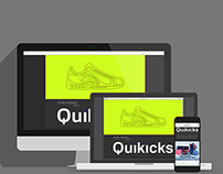 Quikicks Project Sign-up Site