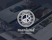 Mankind Bike Company Website & Animation
