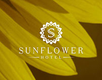 Sunflower | Logo design