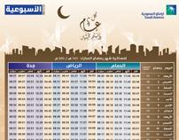 Emsakyat Ramadan 1431/2010