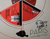 Infografik – Paris und der Tourismus
