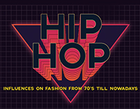 Hip-Hop Influences on Fashion Infographic